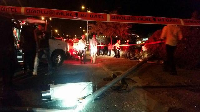 Driver dies in accident possibly caused by stone-throwing
