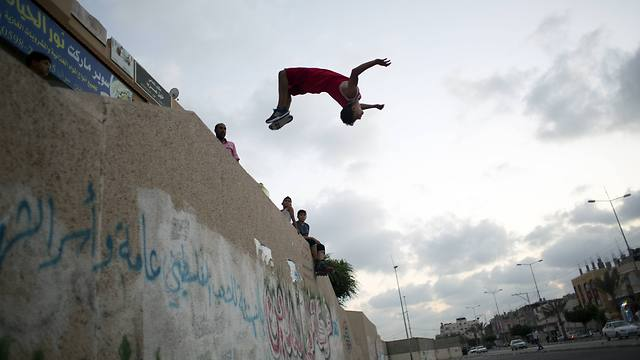 IN PHOTOS: Gazans embrace the extreme