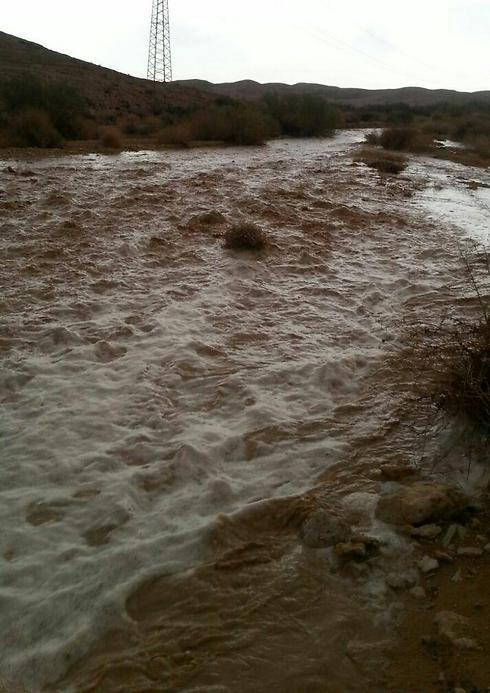 Heavy rains, hail and flooding hit Galilee and Negev