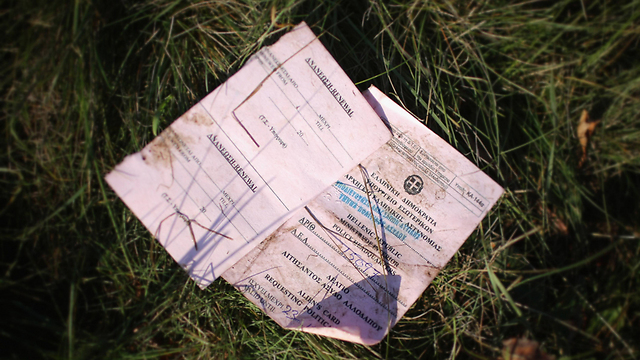 An Immigrant's papers, left behind. In certain cases, it's better to be without them. (Photo: Getty Images)