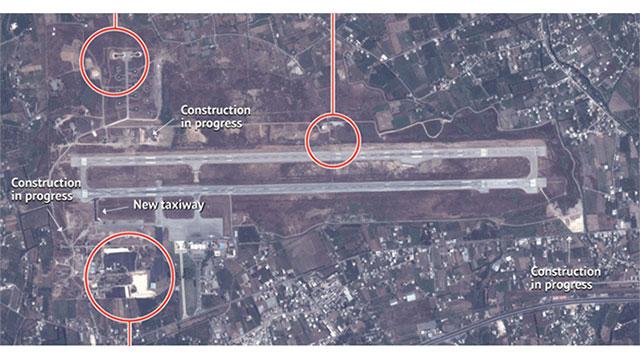 תמונות לוויין מהבסיס בלטקיה ()