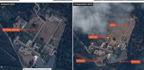 Satellite imagery reveals new Russian bases in Syria