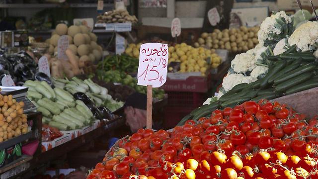 Israeli vegetables (Photo: Moti Kimchi)