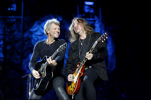 Bon Jovi. Finally came over in 2015 (Photo: Yaron Brener)