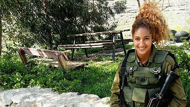 Hila Lev Ari. Serves in the Home Front Command's rescue battalion (Photo: IDF Spokesperson's Unit)
