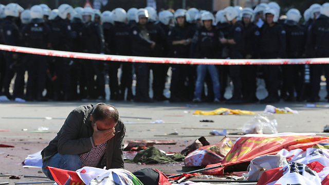 Suicide bombing in Ankara. The victims of this bloodshed are mostly Muslims (Photo: AP)