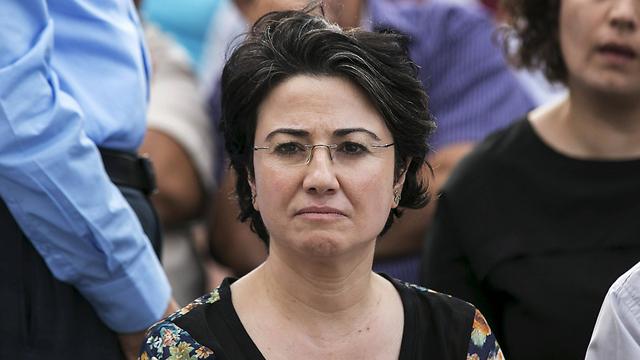 MK Hanin Zoabi (Photo: Reuters)