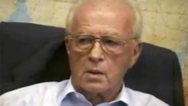 Yitzhak Rabin (Photo: IDF archive)