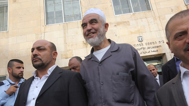 Sheikh Raed Salah, the leader of the northern branch of the Islamic Movement in Israel (Photo: Gil Yohanan)