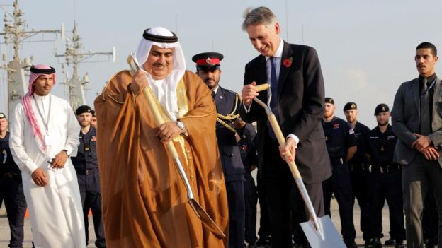 UK building first permanent Middle East base since 1971