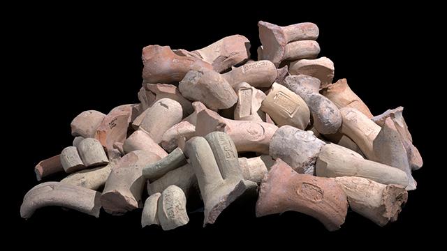 ממצאים בעיר דוד. פיתוח ללא פיקוח (צילום: קלרה עמית, באדיבות רשות העתיקות)