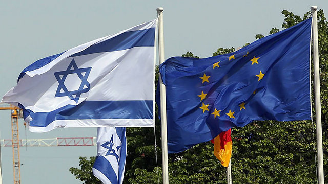 As the EU's foreign policy deteriorates, there is a growth in the obsessive urge in Brussels to punish Israel (Photo: AFP)