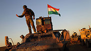 Kurdish fighters take back Sinjar from ISIS Photo: MCT