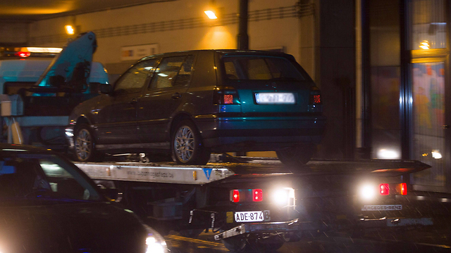The confiscated vehicle. (Photo: AFP)