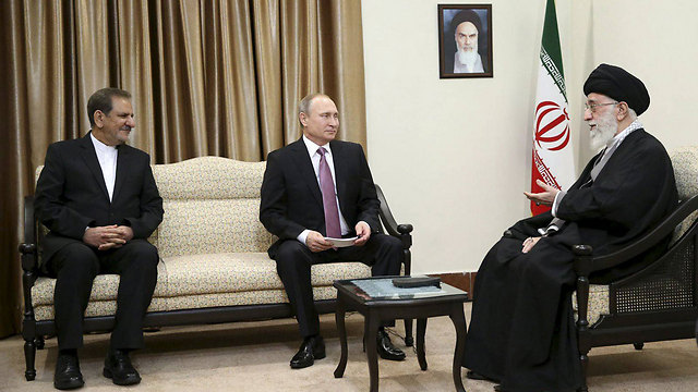 Russian President Putin meets with Iran's Supreme leader Khamenei in Tehran (Photo: Reuters)
