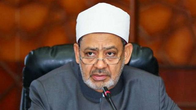 Ahmed al-Tayeb, the sheikh of Al-Azhar in Egypt.
