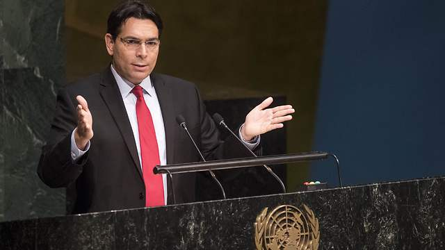 Danny Danon. The UN is a political body and I know how to play this game (UN photo/ Cia Pak)