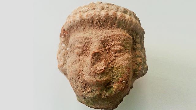 הפסלון שנמצא בתל. היה נפוץ בממלכת יהודה (באדיבות רשות העתיקות)