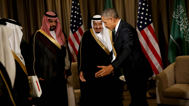 President Obama with King Salman. A lot of anger but no public confrontation (Photo: Reuters)