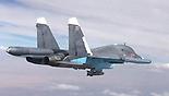 מטוס קרב רוסי בשמי סוריה (צילום: MCT)