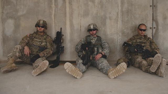 The US troops (Photo: IDF Spokesperson) (Photo: IDF Spokesperson's Unit)