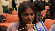 New olim from France at Ben-Gurion Airport