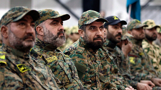 Hezbollah militants. Is the terror organization facing an existential threat? (Photo; AP)