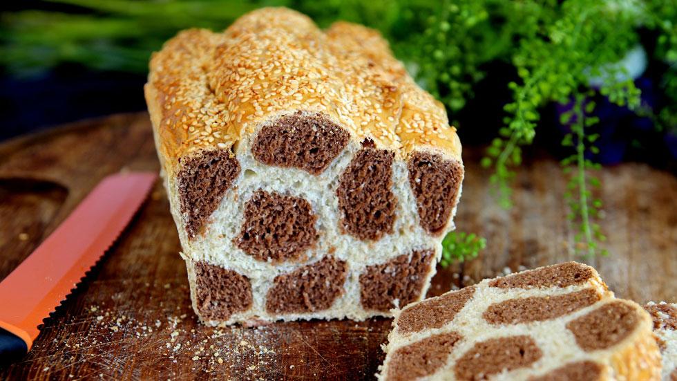 להוציא לאורחים את העינים: לחם ג'ירפה בקלי קלות