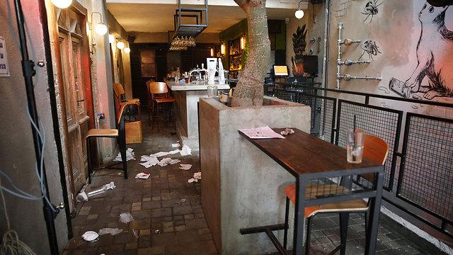 הפאב שאליו נורו היריות (צילום: AFP)