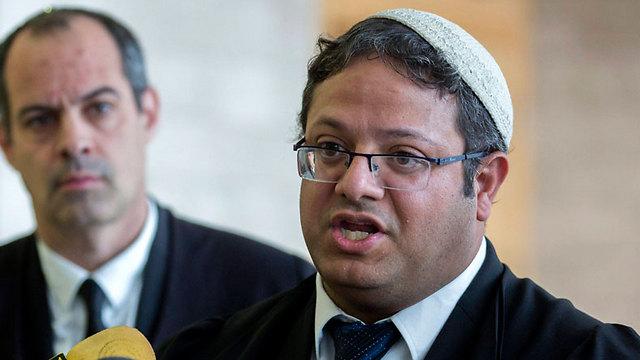 Attorney Itamar Ben-Gvir at court (Photo: EPA)