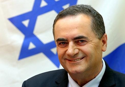 Transportation Minister Yisrael Katz (Photo Sason Tiram)