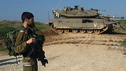 IDF solider and tank