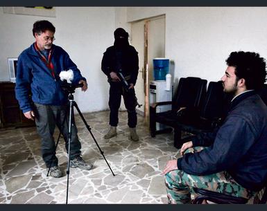 Tzur Shezaf interviews ISIS captive Laith Ahmad Mohammed.