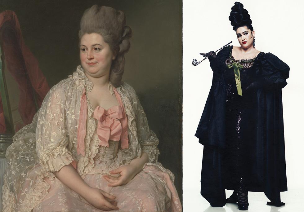 Courtesy Metropolitan Museum of Art, bequest of James A,Courtesy Jean Paul Gaultier