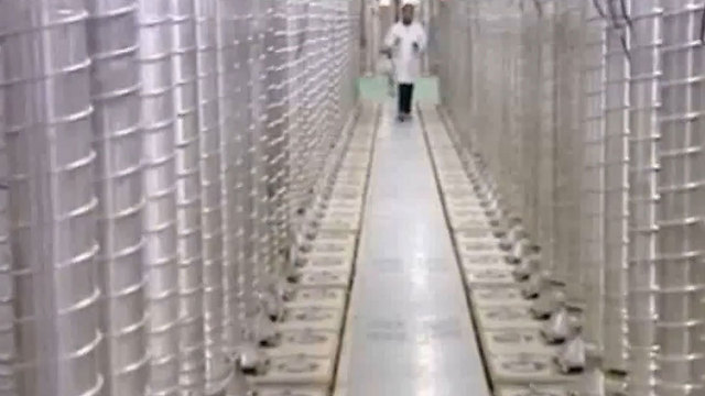 An Iranian nuclear facility. The IDF says the deal hold potential up-sides for Israel.