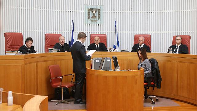 """בית המשפט העליון דן בערעור שהגיש אולמרט (צילום: עמית שאבי, """"ידיעות אחרונות"""")"""