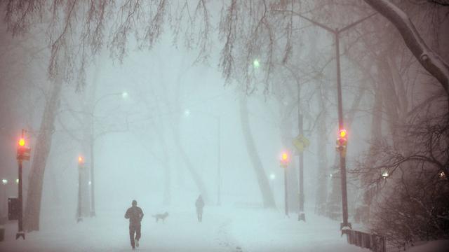 סוער בניו יורק (צילום: AFP)