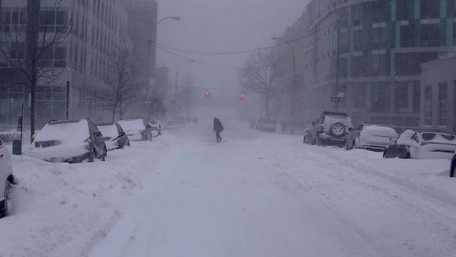 התנועה עצרה בברוקלין  (צילום: ג'ק מרטין )