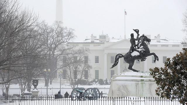 הבית הלבן לבן מתמיד (צילום: רויטרס)