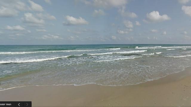 חוף הצוק בתל-אביב (צילום: מתוך Google Street View)