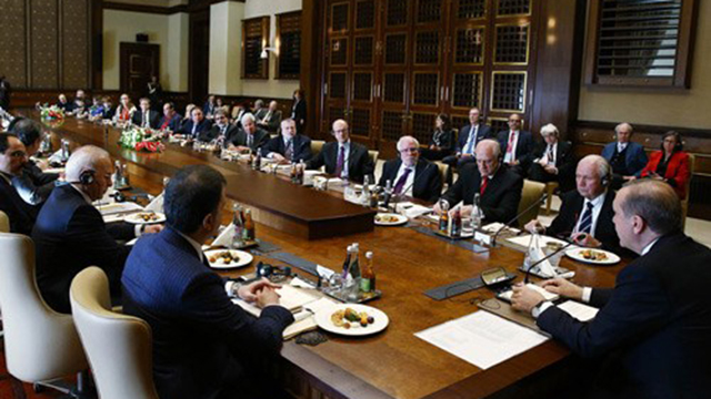 Erdogan meets with Jewish leaders
