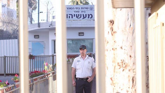 כלא מעשיהו הבוקר  (צילום: מוטי קמחי)