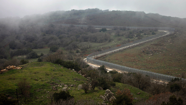 Israel/Syria border fence (Photo: AFP) (Photo: AFP)