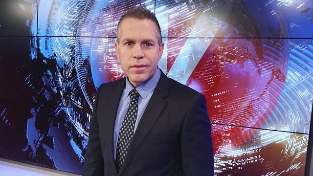 Gilad Erdan in Ynet studios