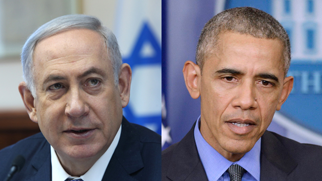 Netanyahu and Obama (Photo: Amit Shabi, MCT)
