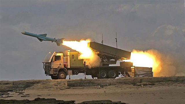 Iran's Islamic Revolutionary Guard Corps fires ballistic missile