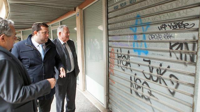 Meir, Dagan and Guy at EuroPalestine (Photo: Assaf Matarasso)