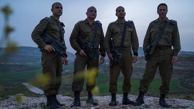 Givati's battalion commanders (Photo: IDF Spokesperson)