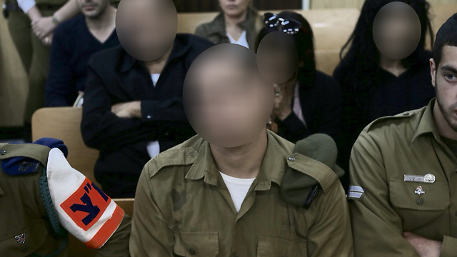 The shooting soldier (Photo: Moti Kimchi)