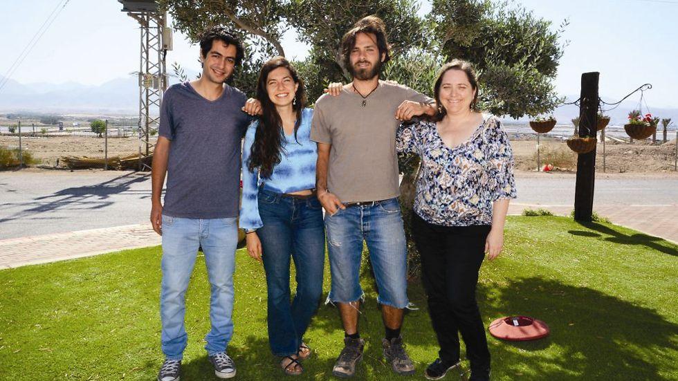 סטודנטים ממכון ערבה  להכיר את האחר (צילום: יוסי דוס-סנטוס)